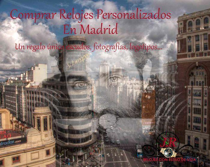 Relojes Personalizados en Madrid