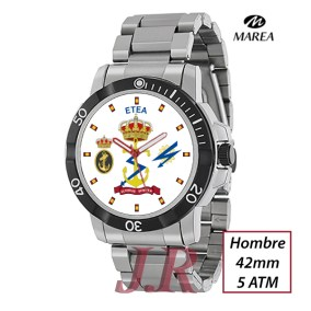 Reloj-escudo-escuela-ETEA-ARMADA-relojes-personalizados-JR