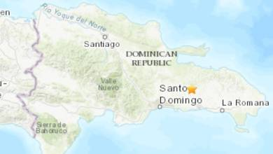 Photo of Temblor de 4.2 grados sacude la parte Este de República Dominicana
