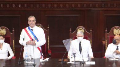 """Photo of Abinader: """"El que robó tiene que pagar en la justicia""""; convocará al liderazgo nacional y anuncia medidas económicas"""