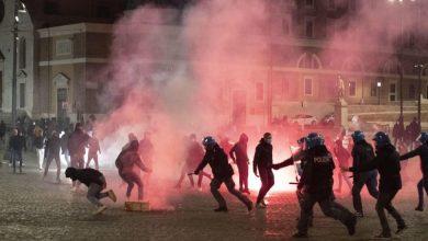 Photo of Protestas y enfrentamientos en varias ciudades de Italia contra los cierres