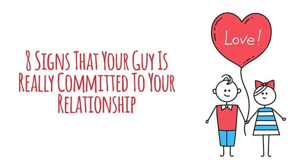 How to be committed in a relationship