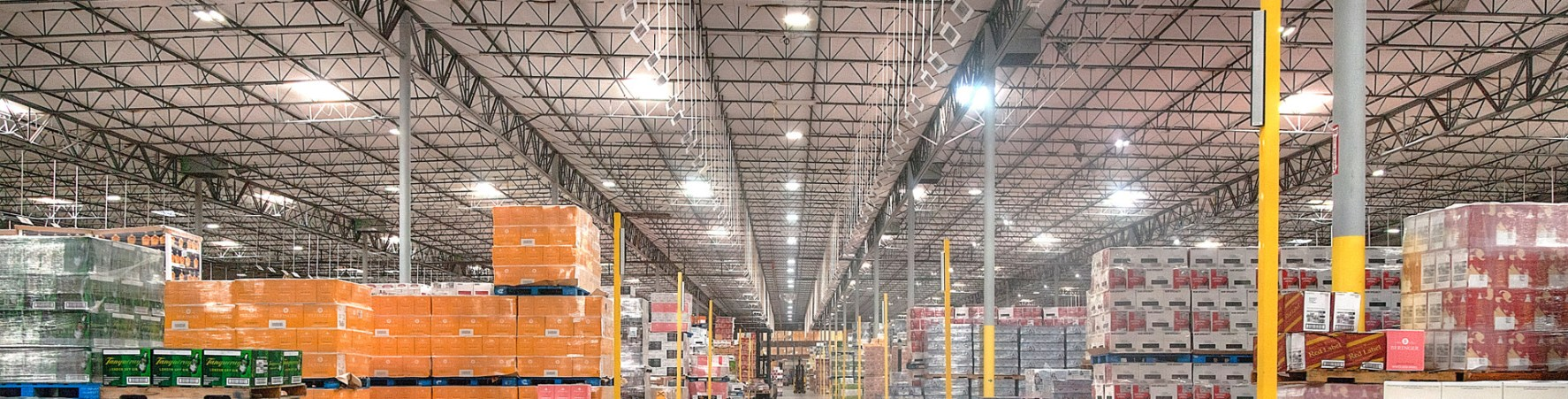 Industrial Warehouse Lighting Solutions | Relumination
