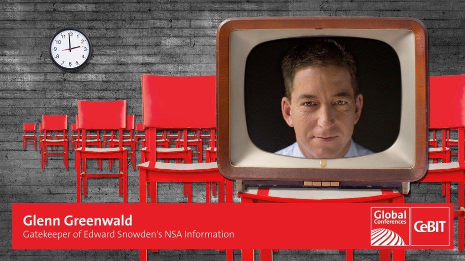 CeBIT Global Conferences Special Guest Glen Greenwald