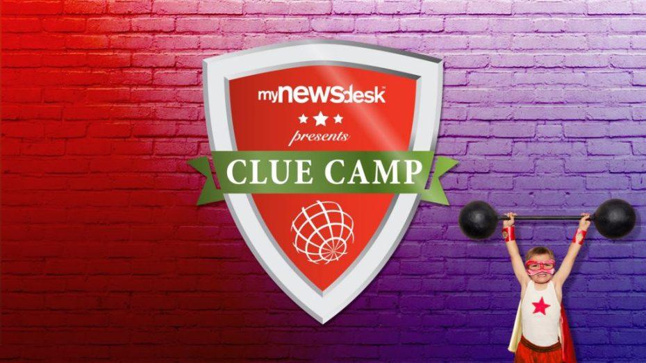 Logo Animationen für Clue Camp Event von mynewsdesk