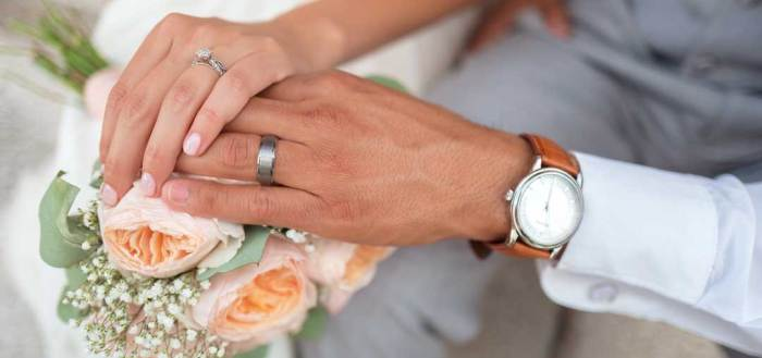 Man and Woman Holding Hands - A Guide To A Successful Destination Marriage Proposal