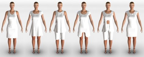 Virtual Mannequins
