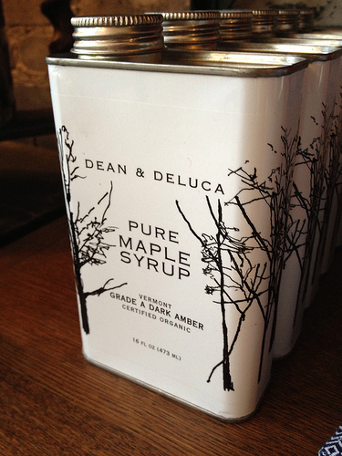 Dean & Deluca Maple Syrup, from the OE Store