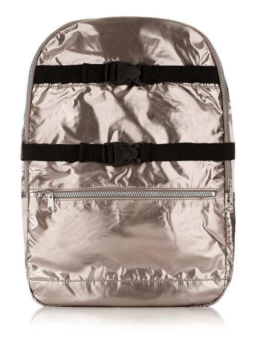 Topman Metallic Backpack