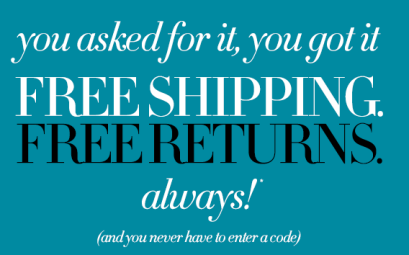 Neiman Marcus Free Shipping, as of October 1, 2013