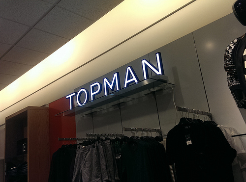 Topman at Nordstrom Tampa Bay