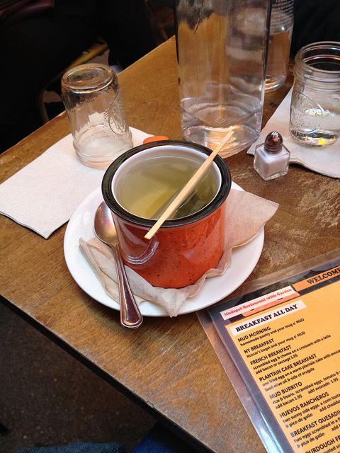 Tea Time at MUD in the East Village