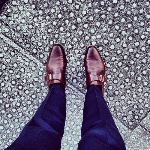 Peal & Co. monk-straps from Brooks Brothers