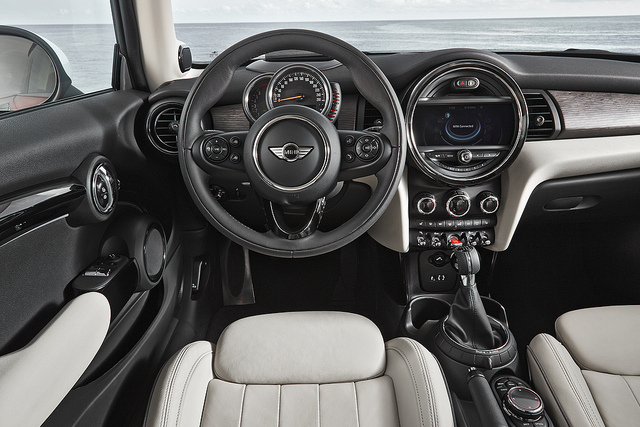 Interior of the new Cooper