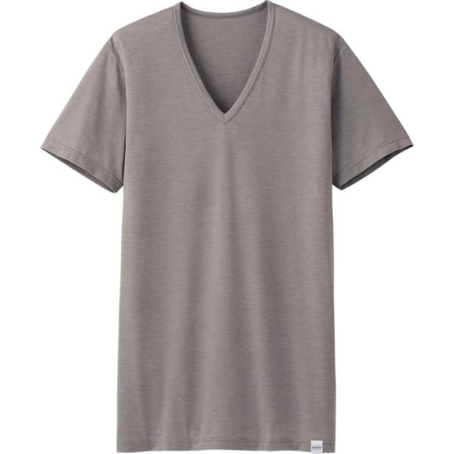 Uniqlo heattech v-neck tee, only $13!