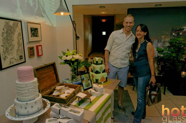 Artisan Crafted Edibles by Mark Brokaw, and supporter Antoinina Watkins