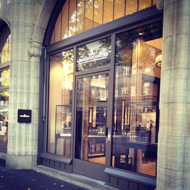 The JLC boutique in Zurich, CH