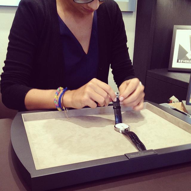 Swoon. @Jaeger-Lecoultre boutique, Zurich, CH