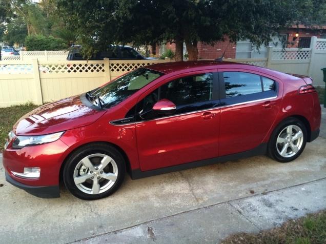 Ruby: 2014 Chevy Volt electric car