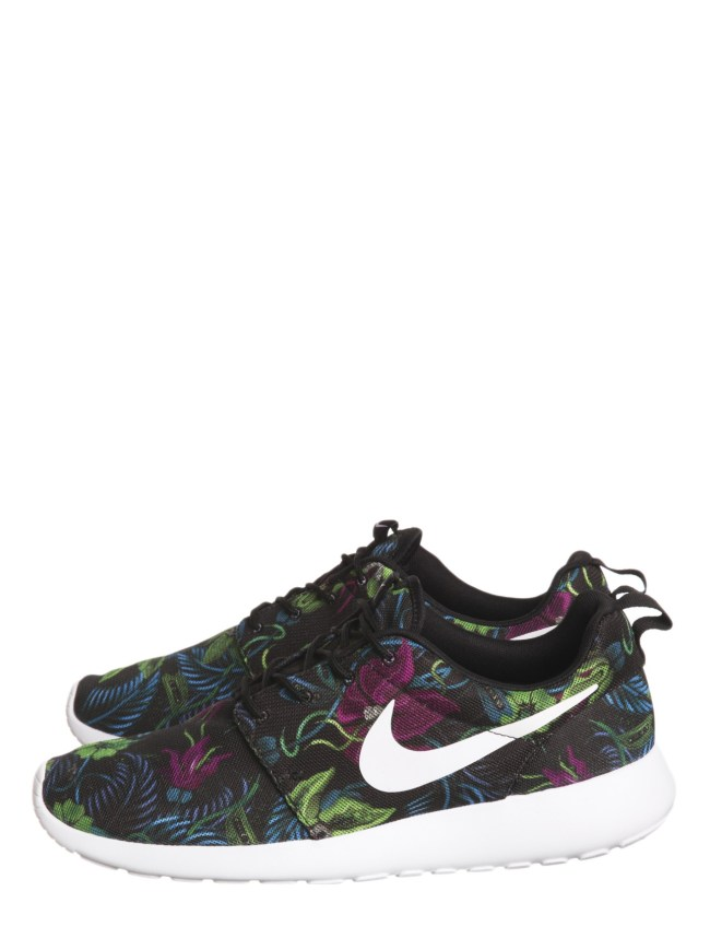 Nike Roshe Run floral print sneakers at Scoop NYC