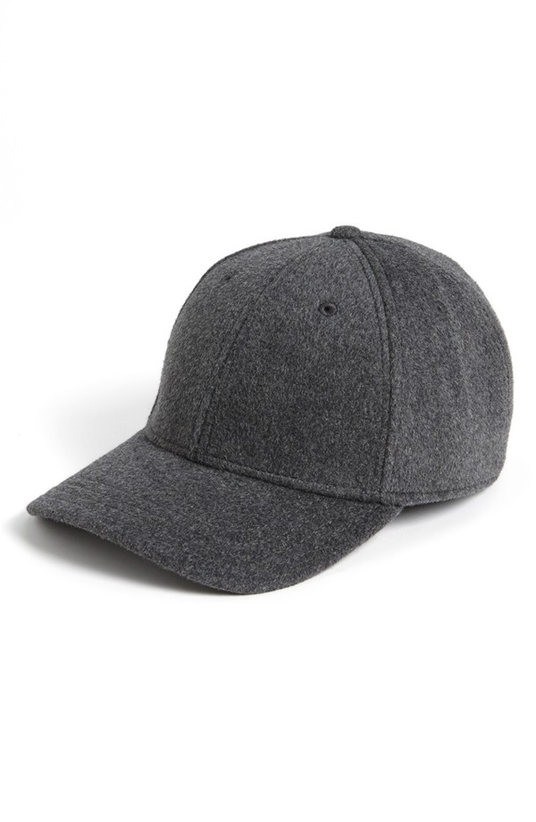 Gents textured wool-cashmere-rabbit hair blend cap at Nordstrom