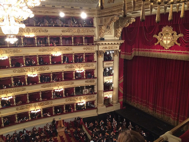 La Scala is a national landmark of Italy, for obvious reasons...