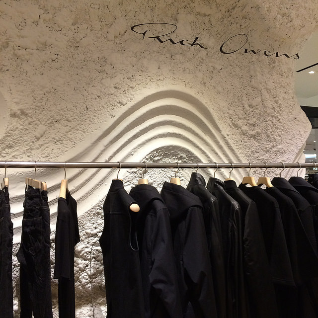Rick Owens at Selfridge's