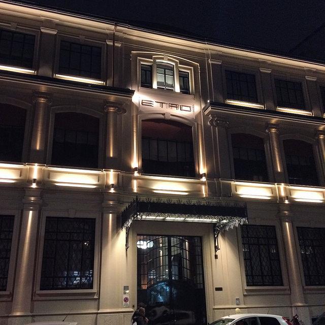 Etro headquarters on Via Spartaco...swoon!
