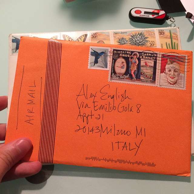 Speaking of stamps. Mail from The Paper Seahorse!