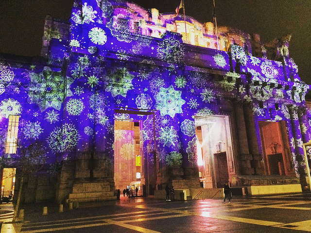 A homecoming to festive Milano Centrale