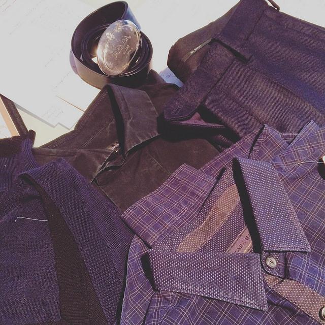 The loot of one shopping trip to Bivio: Zara, Jil Sander, Prada, Neil Barrett, and unsigned