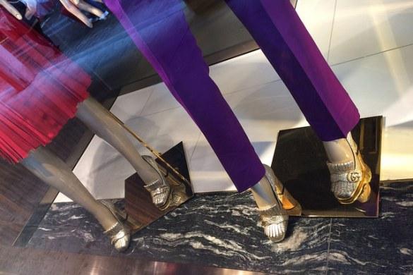 Gucci vetrina in Lugano