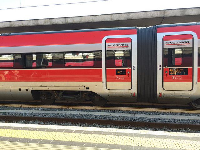 Frecciarossa runs from Milan to Rome on frequent timetables at a travel time of under 3 hours