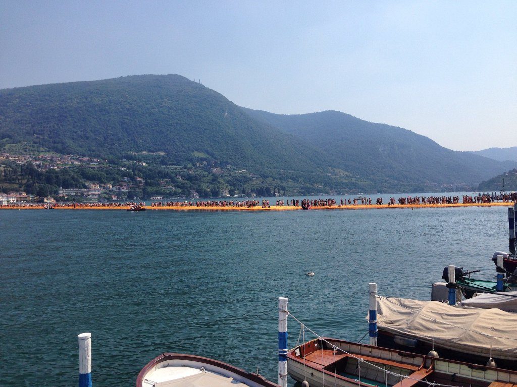 Christo's Floating Piers, something Jane would have loved