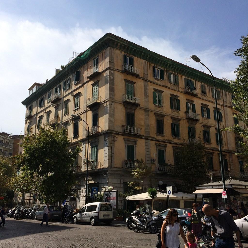 A typical building in Vomero, Napoli