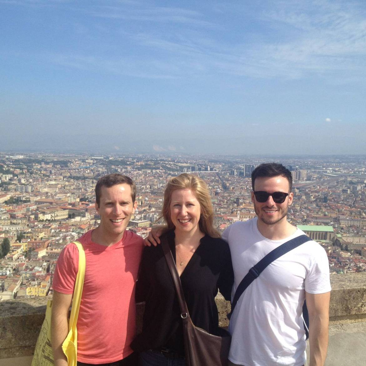 Mike, Lauren, and I atop Castel Sant'Elmo
