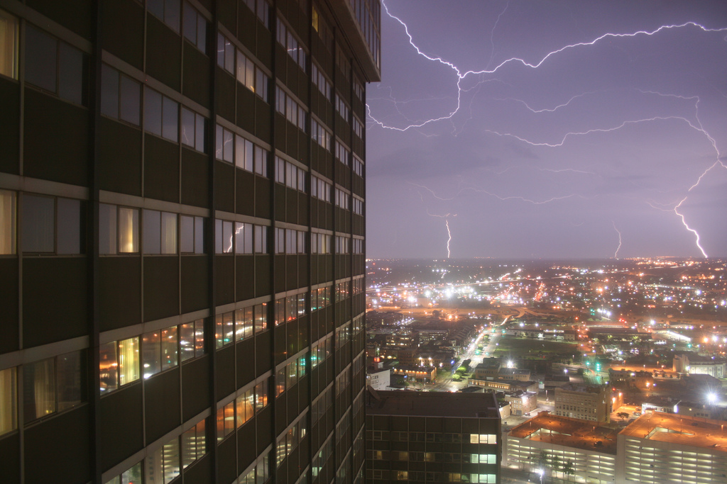 credit: urbanfeel on Flickr, Dallas T-Storms, used under creative commons license