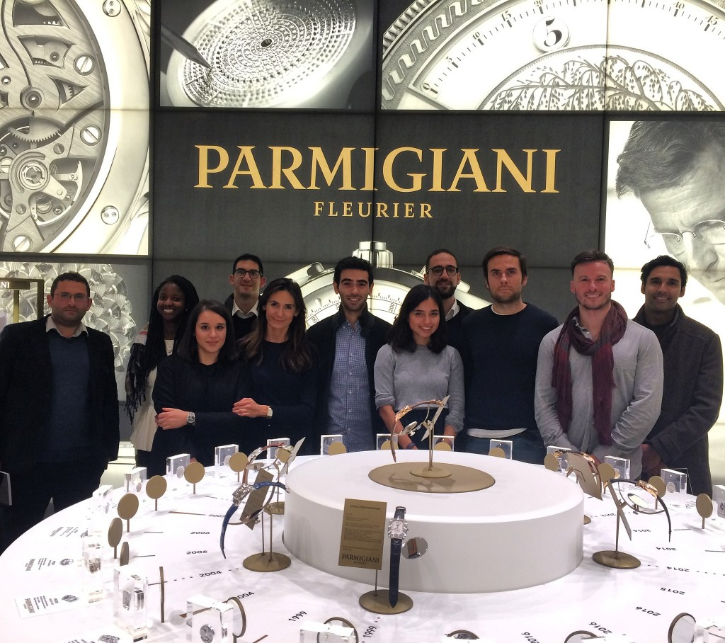 SDA Bocconi Luxury & Arts Club at PISA Orologeria to see Parmigiani Fleurier's Sandoz collection
