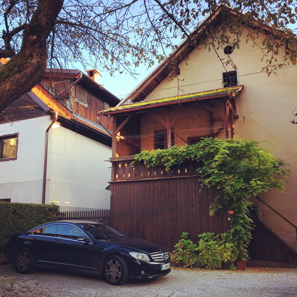A home in Lake Bled - I was attracted by the pristine Benz