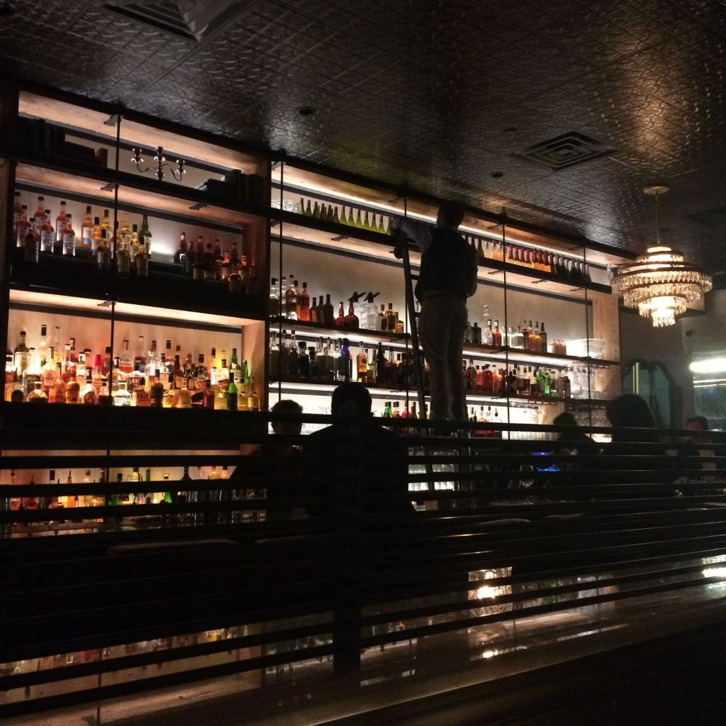 Drinks at Hotel Bar, one of Tampa's new spots