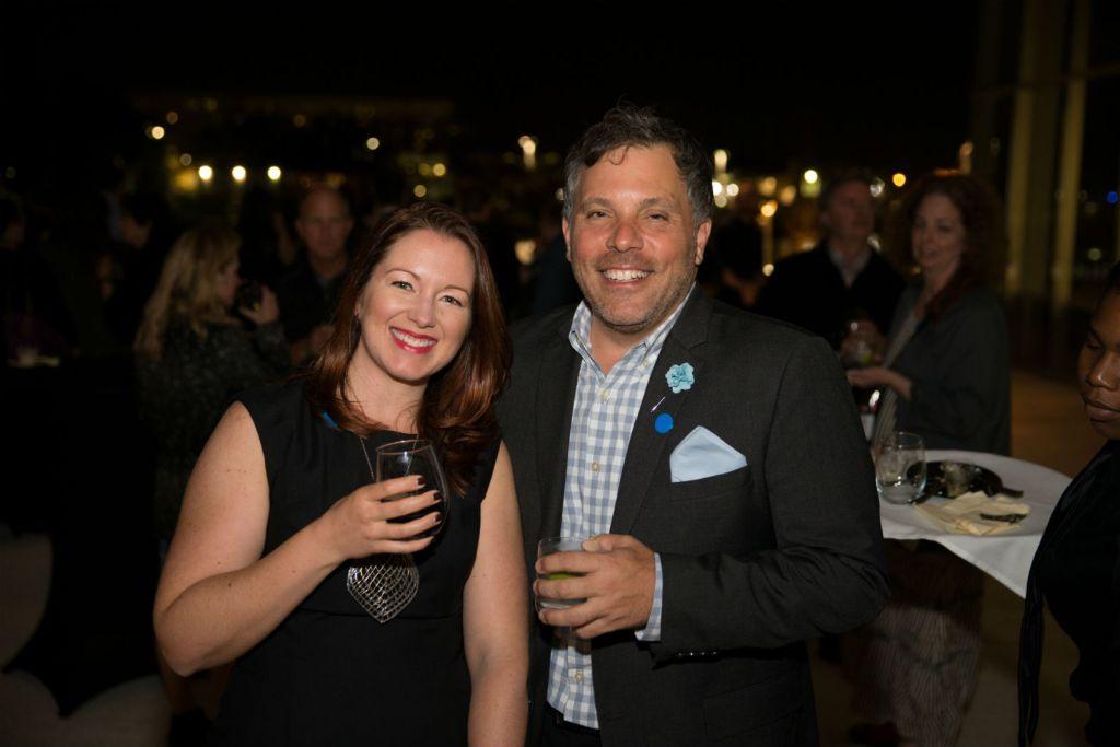 Sarah Joubert and Jim Vasiloff, credit to Will Staples Photography