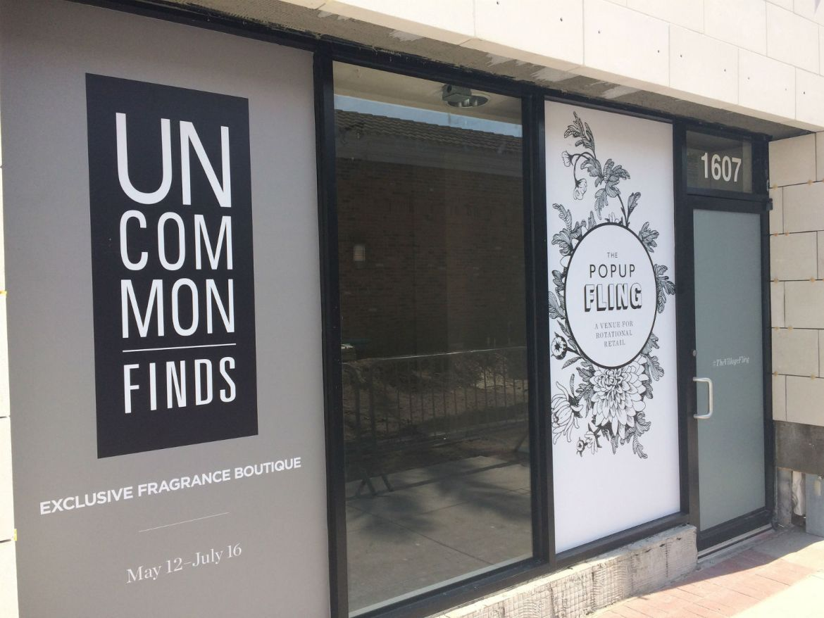 Uncommon Finds --> Hyde Park Village starting May 12, 2017