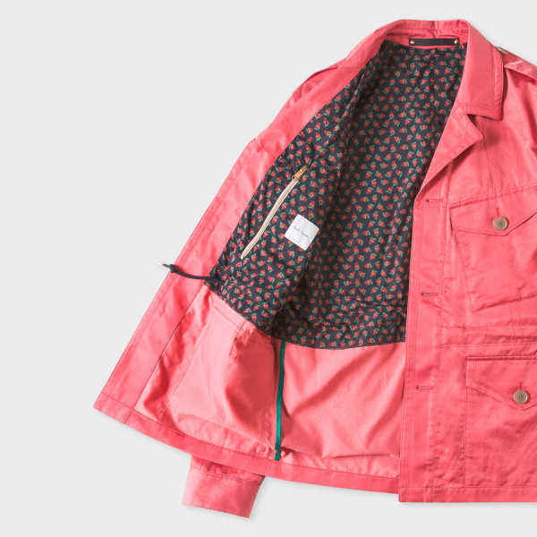 Paul Smith bright pink field jacket