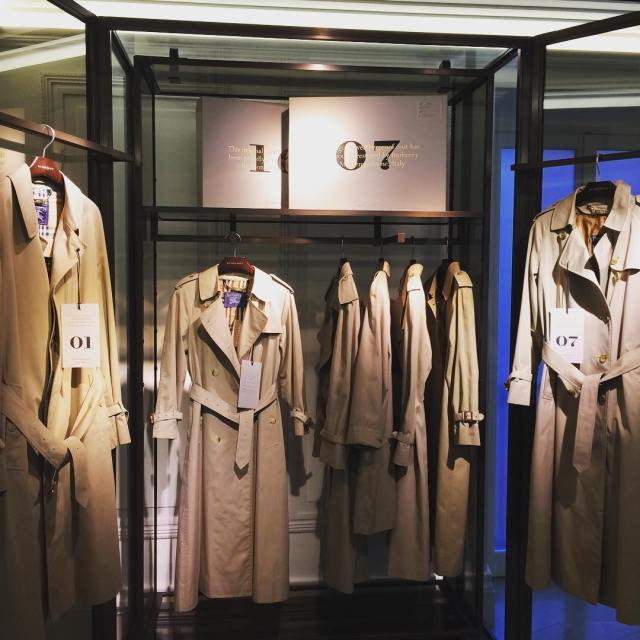 Vintage trench coats at burberry Montenapoleone Just one way tohellip