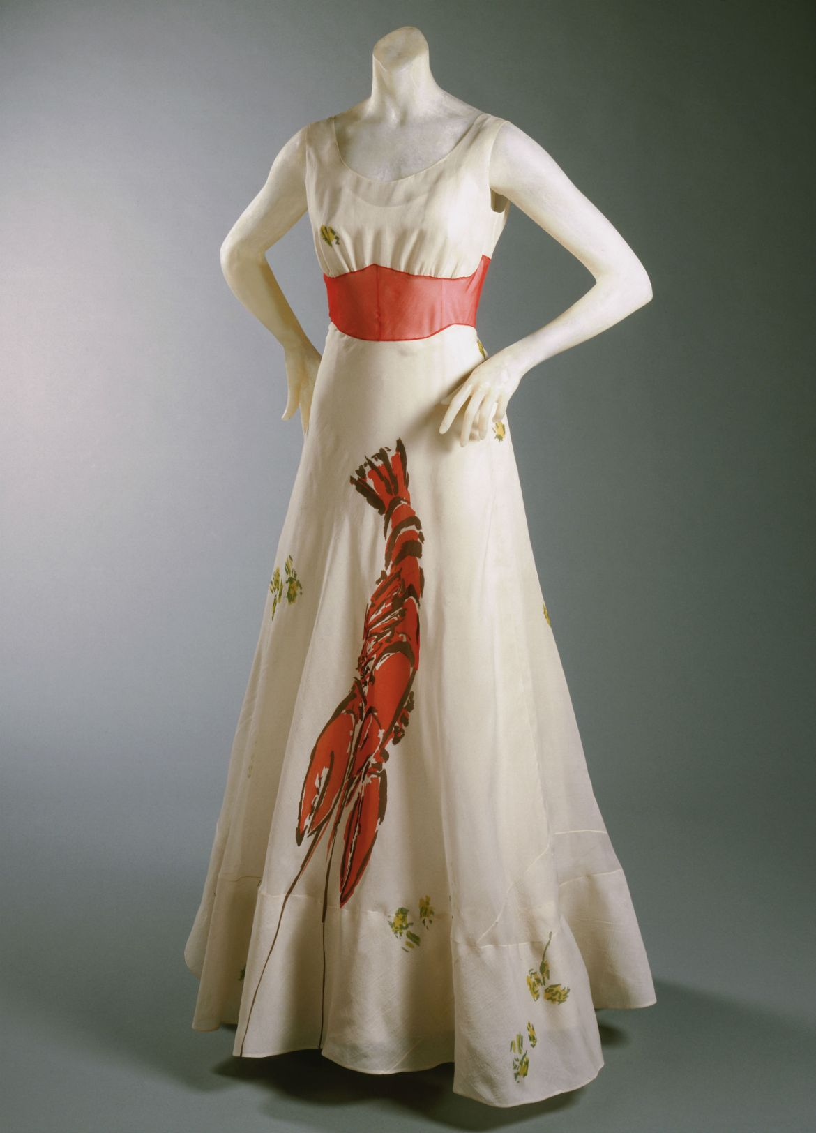 Woman's Dinner Dress. Philadelphia Museum of Art, Gift of Mme Elsa Schiaparelli, 1969-232-52