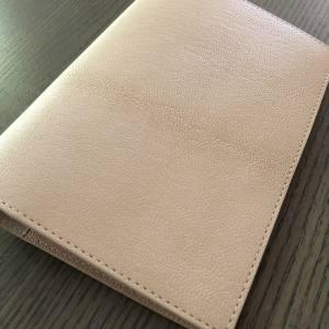MD Paper by Midori Goatskin A6 Notebook cover