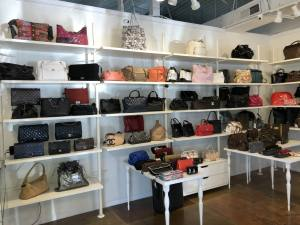Chanel and Louis Vuitton handbags at Couture USA