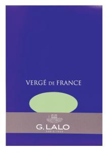G. Lalo Vergé de France Pistachio paper pad