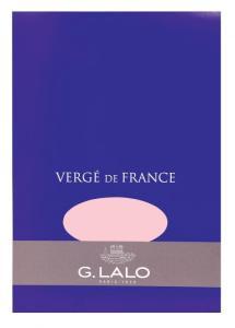 G. Lalo Vergé de France Rose paper pad