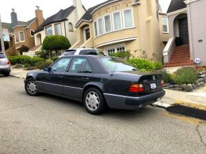 W124 Mercedes 500E in San Francisco